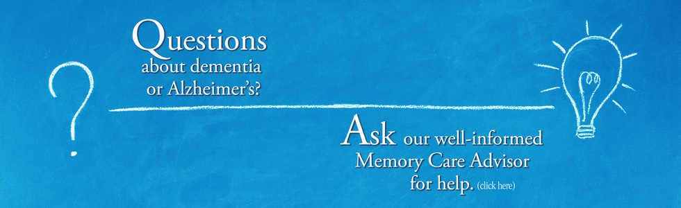 talk to a memory care advisor